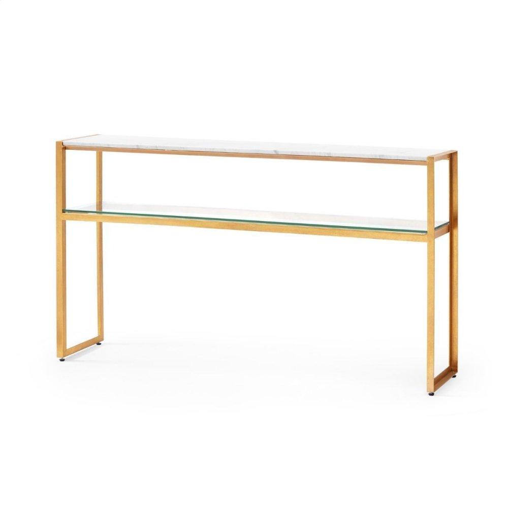 Endura Console Table, White