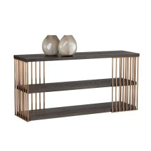 Daphane Console Table - Brown