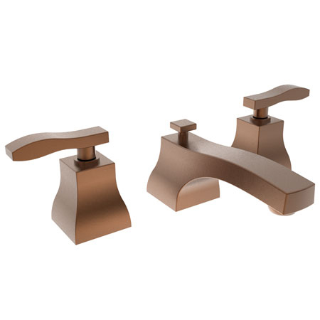 Antique Copper Widespread Lavatory Faucet