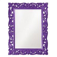 Chateau Mirror - Glossy Royal Purple