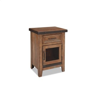 Taos 1 Drawer Nightstand