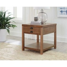 Occasional Group Casual Light Oak End Table