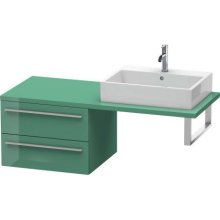 X-large Low Cabinet For Console, Jade High Gloss (lacquer)