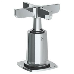 """Trim for Deck Mounted Valve. Engraved """"h"""" Product Image"""