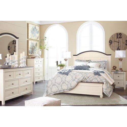 Woodanville - White/Brown 3 Piece Bed Set (Queen)
