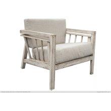 Arm Chair, w/ Fabric Cushions