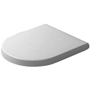 White Starck 3 Toilet Seat And Cover