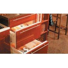 700BFB Freezer Drawers - Carbon Stainless