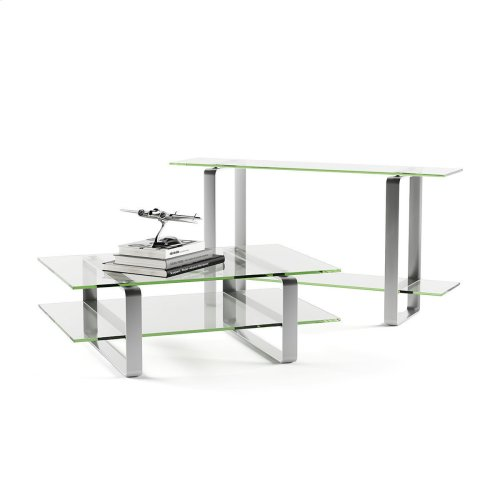Console Table 1643 in Clear Glass