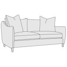 Joli Loveseat in Portobello (789)