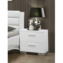 Felicity Contemporary Two-drawer Nightstand