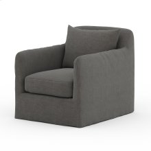 Charcoal Cover Dade Outdoor Swivel Chair