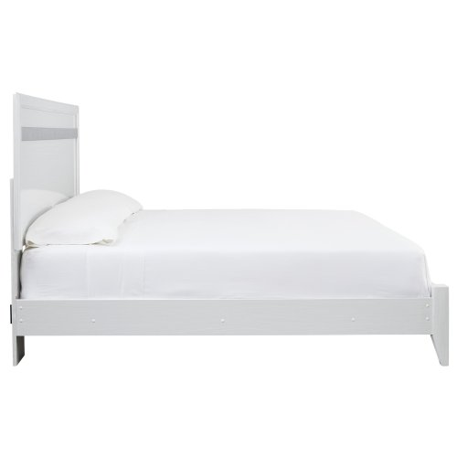 Jallory - White 2 Piece Bed Set (King)