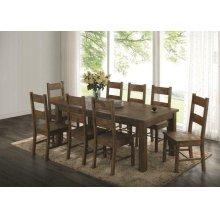 Coleman Golden Brown Five-piece Dining Set
