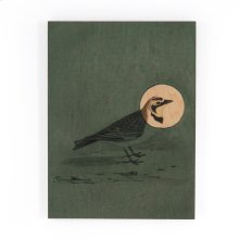 Antique Bird Green By Visual Contrast Wo