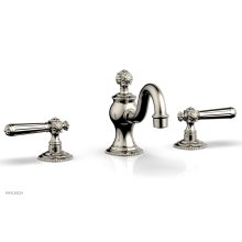 MARVELLE Widespread Faucet lever Handles 162-02 - Polished Nickel