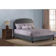 Lani Footboard and Rails - King - Dark Linen Grey
