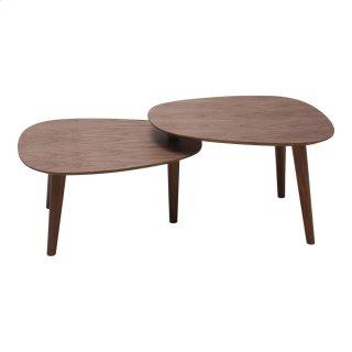 Palto Coffee Table Walnut
