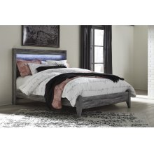 Baystorm - Gray 2 Piece Bed Set (Queen)