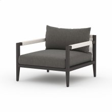 Charcoal Cover Sherwood Outdoor Chair, Bronze