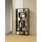 Casual Cappuccino Bookcase Product Image