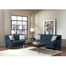 Finley Casual Blue Two-piece Living Room Set Product Image