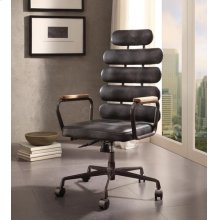BLACK EXECUTIVE OFFICE CHAIR