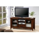 Transitional Warm Brown TV Console Product Image