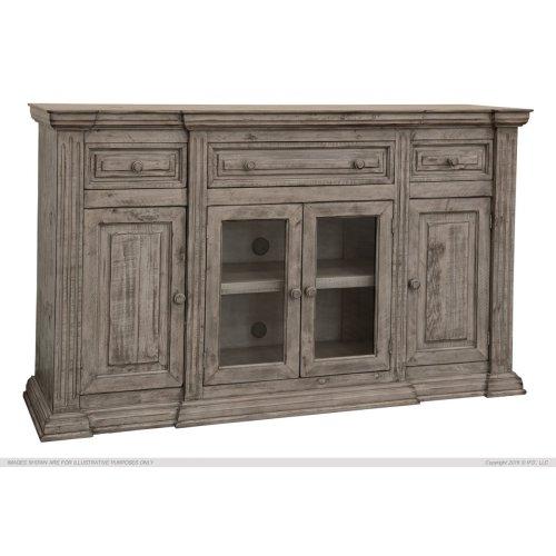 3 Drawer, 4 Door, Console