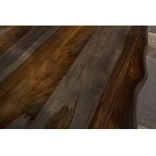 Emerson Rectangle Dining Table - Gray Sheesham