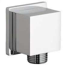 Square Wall Supply - Polished Chrome