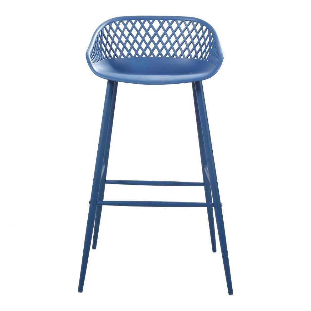 Piazza Outdoor Barstool Blue-m2