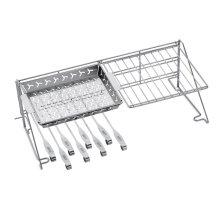 WEBER ORIGINAL - Grill Rack and Skewer Set