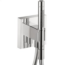 Chrome Porter unit 120/120 with baton hand shower and shower hose
