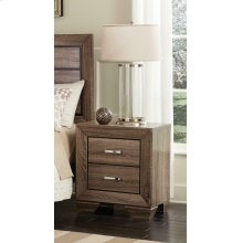 Kauffman Transitional Two-drawer Nightstand