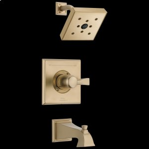 Champagne Bronze Monitor ® 14 Series H2Okinetic ® Tub & Shower Trim Product Image