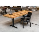 Power Adjustable Desk Base Black Product Image