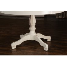 Bayberry / Embassy Round Dining Table - White