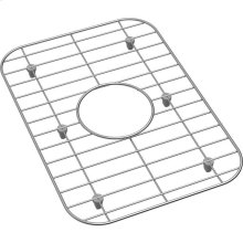 "Dayton Stainless Steel 10-5/8"" x 15-3/16"" x 1"" Bottom Grid"
