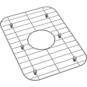"Dayton Stainless Steel 10-5/8"" x 15-3/16"" x 1"" Bottom Grid Product Image"