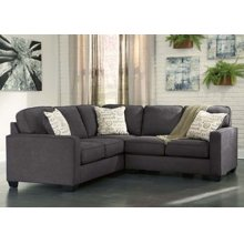 Alenya - Charcoal 2 Piece Sectional