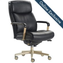 Melrose Executive Office Chair, Black