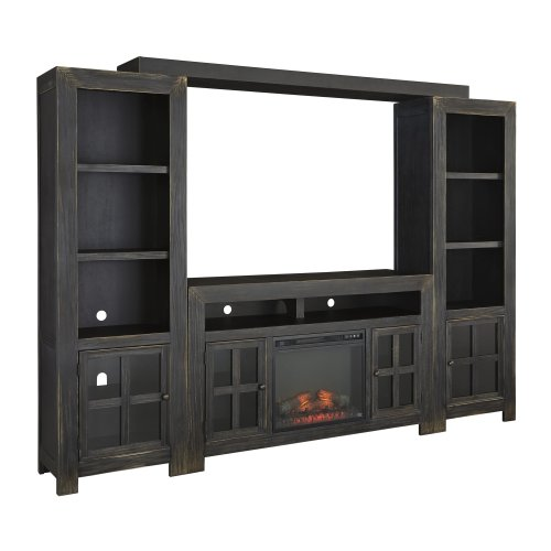 Gavelston - Black 4 Piece Entertainment Set