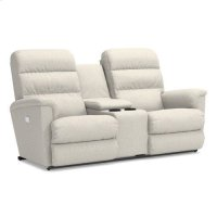 Tripoli Power Wall Reclining Loveseat w/ Console Product Image