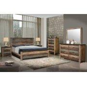 Sembene Bedroom Rustic Antique Multi-color California King Five-piece Set Product Image