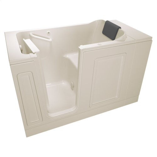 Acrylic Luxury Series 30x51 Left Drain Walk-in Bathtub with Air Spa System  American Standard - Linen