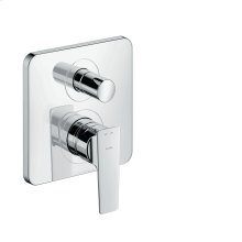 Chrome Single lever bath mixer