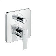 Chrome Single lever bath mixer