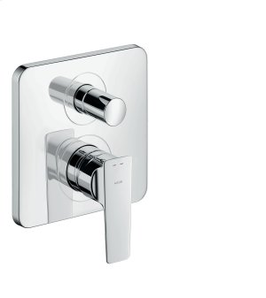 Chrome Single lever bath mixer Product Image