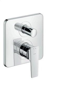 Chrome Single lever bath mixer Product Image